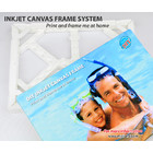 DIY Inkjet Canvas with Support Frame