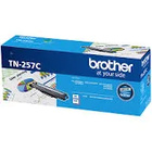 Genuine Brother TN-257 Cyan Toner Cartridge