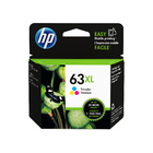 HP 63 Original Colour High Yield Ink F6U63AA