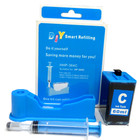 DIY Refill Kit for HP 564/920 Cyan Cartridge